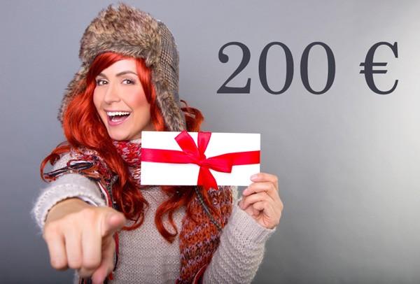 Kosmetik Geschenkgutschein 200 €
