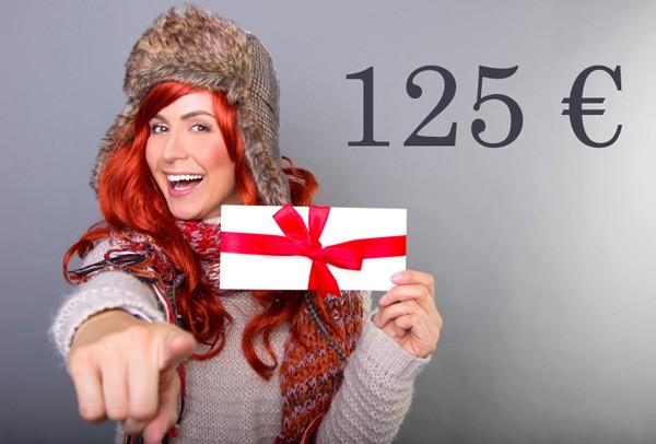 Kosmetik Geschenkgutschein 125 €