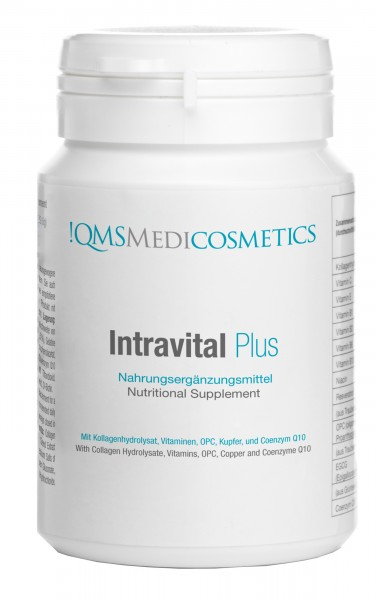 !QMS Medicosmetics - Intravital Plus Kapseln - Nahrungsergänzung