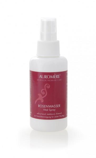 Auromere - Pflegeprodukte - Rosenwasser Vital-Spray Naturkosmetik