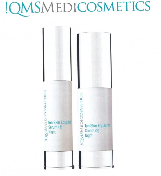 !QMS Medicosmetics - Ion Skin Equalizer - Night Serum und Cream