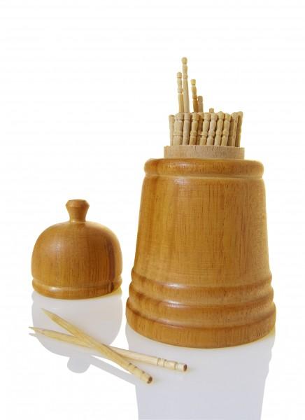 Auromere - Mundhygiene - Zimtzahnstocher in attraktiver Holzglocke Naturkosmetik