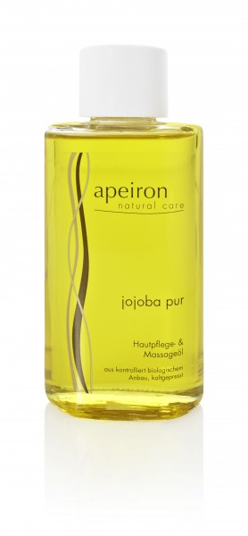 Apeiron Naturkosmetik - Jojoba pur Hautpflege und Massageöl