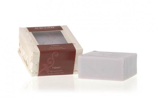 Auromere - Pflanzenöl Seifen mit Olivenöl - Neem Pflanzenöl-Seife Naturkosmetik